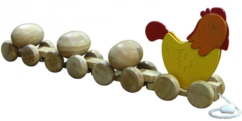 Gà kéo trứng
