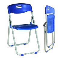 Ghế xếp chân sắt,  mặt và tựa bằng nhựa