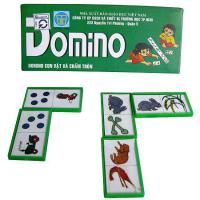 Domino con vật và chấm tròn