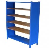 Kệ  để thiết bị - khung sắt -ván gỗ