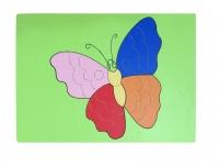 Tranh ghép con bướm