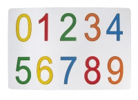 Tranh ghép bộ số 0 đến 9 (mẫu 2)