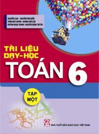 Tài liệu dạy học Toán 6, tập I